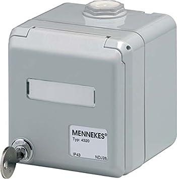 Mennekes de datos para empotrar 4300 f.RJ 45-caja de conexiones para empotrar comunicación enchufe de cobre 4015394210412: Amazon.es: Bricolaje y herramientas