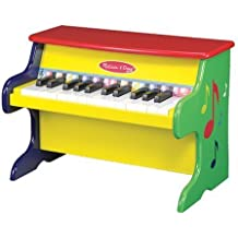 Melissa & Doug Learn-To-Play Piano With 25 Keys and Color-Coded Songbook