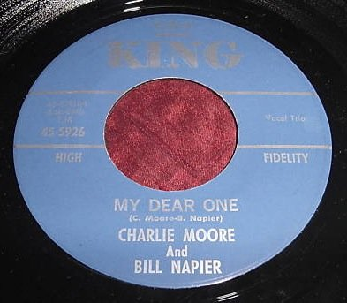 MOORE & NAPIER - my dear one/ chain gang KING 5926 (45 vinyl single record)