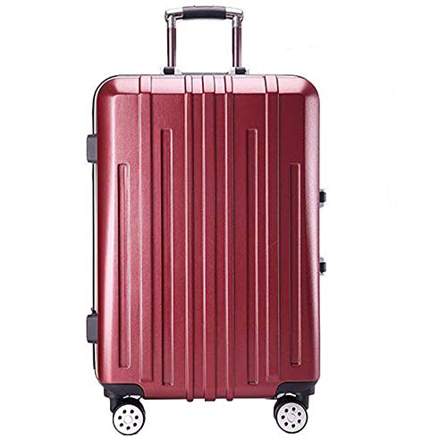 BMHFF Luggage Carry On Luggage with 4 Spinner Wheels Hardshell Lightweight Suitcase with TSA Password Lock Durable Trolley Case Boarding The Chassis 24In for Men and Women
