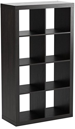 Better Homes and Gardens 8-Cube Organizer, Espresso