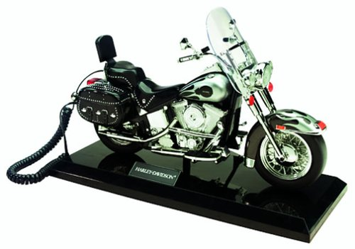 (Telemania Harley-Davidson Corded Phone (25769))