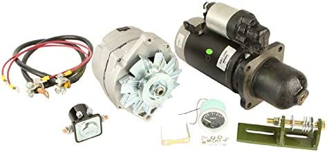 Amazon Com Db Electrical Akt0017 New Alternator Starter Conversion Kit For John Deere Tractor 3010 3020 4010 4020 24 To 12 Volt Se501474 Ty16172 Garden Outdoor