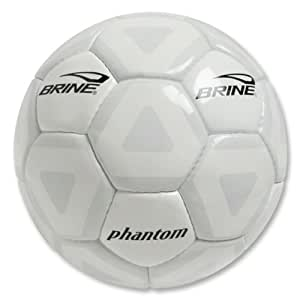 Brine Phantom Soccer Ball - Size 5, White