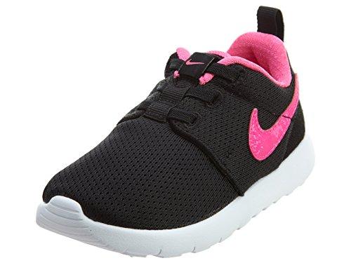 Jungen Nike Roshe One (TD) Kleinkindschuh Schwarz / Pink Explosion / Weiß
