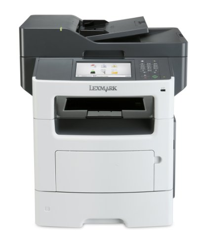 Lexmark MX617de Monochrome All-in One Laser Printer, Scan, Copy, Network Ready, Duplex Printing and Professional Features