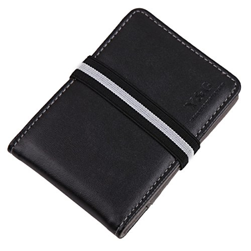 05. YCM1201 Multicoloured Money Clip Wallet 15 Card Holders for Mens By Y&G