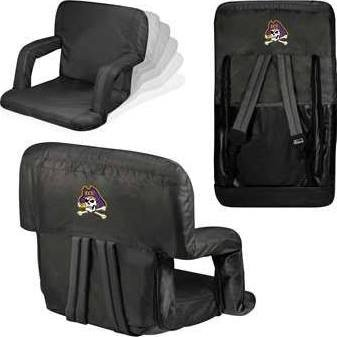 NCAA East Carolina Pirates Ventura Portable Reclining Seat ()