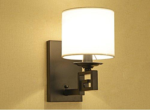 Zhdc lampada da parete di nuovo stile cinese doppio della