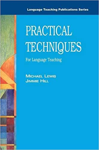 Practical techniques for language teaching language teaching practical techniques for language teaching language teaching publications 2nd edition fandeluxe Choice Image