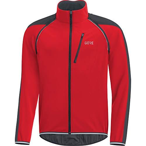 (Gore Men's C3 Gws Phantom Zo Jacket,  red/black,  L)