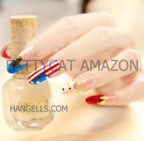 FATTYCAT HIGH QUALITY FASHION JAPANESE 3D NAIL ART PANDORA 24 nails Sold By FATTYCAT