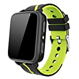 Kids Smart Watch for Boys Girls – HD Touch Screen Sports Smartwatch Phone with Call Camera Games Recorder Alarm Music Player for Children Teen Students Age 3-12 (G612-Black)