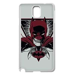 Samsung Galaxy Note 3 Cell Phone Case White_Batman Red Cape Wsqrt