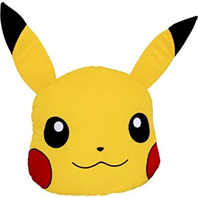 "Pokemon, Choose Pikachu 16"" x 16"" Character Pillow Head: Home & Kitchen"