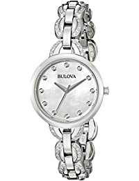 Women's 96L203 Analog Display Japanese Quartz Silver Watch