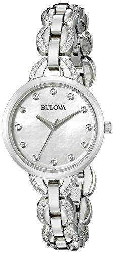 Bulova Women's 96L203 Analog Display Japanese Quartz Silver Watch