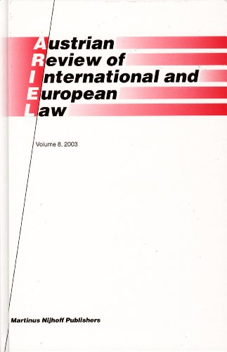 Austrian Review of International And European Law 2003