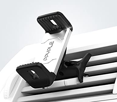 PPYPLE AIR VIEW S Universal Smartphone Car Air Vent Mount Holder for iPhone7//7Plus//6//6Plus//SE//Samsung Galaxy S7//Edg//S6//S5//Note//LG 8PP-AVS-BLK-AAA