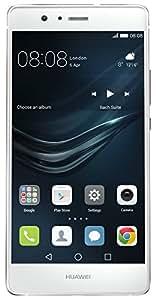 "Huawei P9 Lite - Smartphone libre de 5.2"" (HiSilicon Kirin 650, Octa-Core, 3 GB de RAM, 16 GB, 13 MP, Android), color blanco [versión europea]"