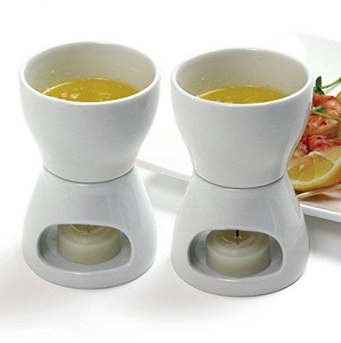 Norpro 213 Porcelain Butter Warmer, 2pc set by Norpro (Image #3)