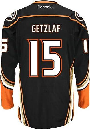 Fanartikel NHL ANAHEIM DUCKS Ryan Getzlaf Nr 15 Eishockey Name Number T-Shirt black C Weitere Wintersportarten