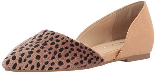 - CL by Chinese Laundry Women's Hearty Pointed Toe Flat, Cheetah, 7.5 M US