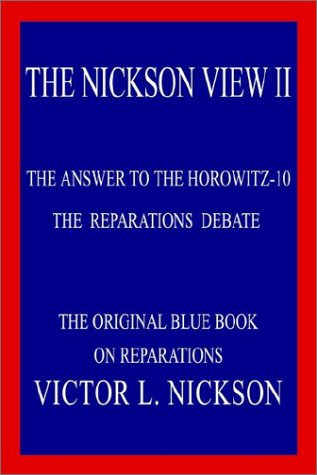 Download THE NICKSON VIEW II: THE ANSWER TO THE HOROWITZ-10 pdf