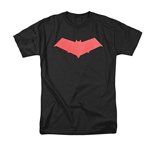 Batman DC Comics Under The Hood Jason Todd Hood Bat Logo Adult T-Shirt