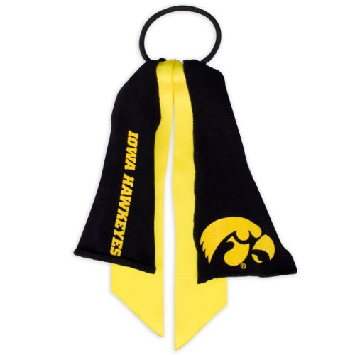 ncaa-iowa-hawkeyes-ponytail-holder-yellow
