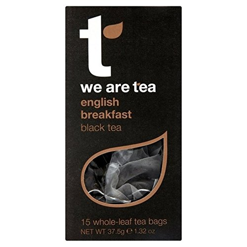 We Are Tea English Breakfast Teabag 15 per pack - Pack of 2