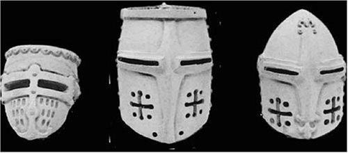 アンドレアミニチュアズ S8-A9 Medieval helmets