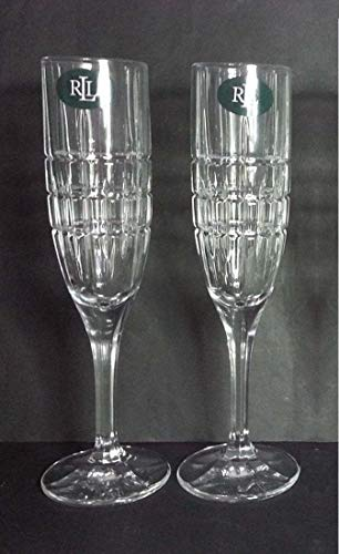 Cocktail Party Pair of Champagne Flutes-Ralph Lauren ()