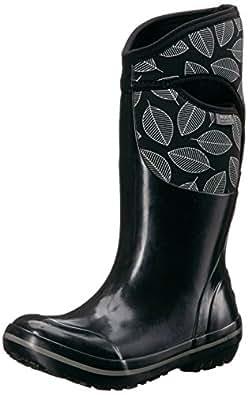 Amazon.com | Bogs Women's Plimsoll Leafy Tall Snow Boot