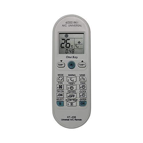 KT-E08 Universal Remote for All Major Brands of Mini Split AC