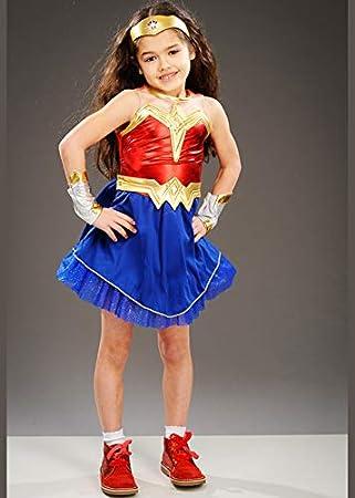 Medium Batman v Superman Dawn of Justice Wonder Woman Child Costume