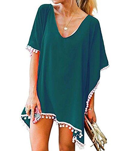 ビーチスカート,レディース エレガント 純色シャツ 薄手 柔らか 上着 日焼け止 冷房対策 UVカット 水着 ビーチコート カジュアル ファッション 涼しいシャツ