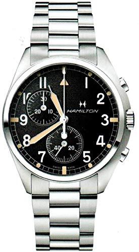 ساعت مچی مردانه همیلتون مدل H76522131 با بدنه استیل