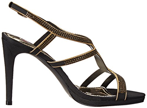 Lips 2 Women Dress Sandal Black Too Too Anita rr1qd