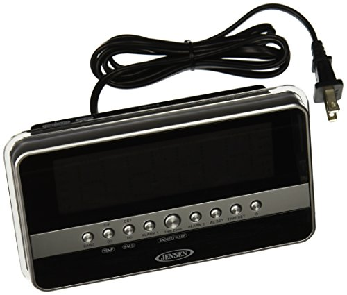 jensen jcr 275a am fm dual alarm clock radio with wave sensor silver 11street malaysia alarm. Black Bedroom Furniture Sets. Home Design Ideas