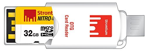 Strontium Nitro 16GB MicroSDHC Class 10 UHS-I Memory Card Up to 65MB/s (SRN16GTFU1R) 3 Up to 70MB/s Read Transfer Speed, for NITRO performance Perfect for Premium Android smartphones & tablets, GPS, HD camcorder, and many more Class 10 UHS-I, U1 performance for fast and smooth continuous shooting and 1080p full HD Video recording performance