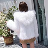 V-HOUE Dog Coats Hook in Real Fur Long Raccoon Fur Overcoat Lady Fashion 100% Knitted Real Genuine Fox Fur Coat Jackets Wearcoat Long Vintage