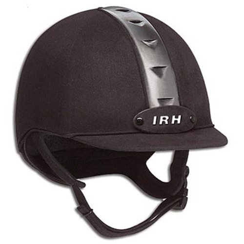 IRH ATH Riding Helmet - Black/Gun Metal ()