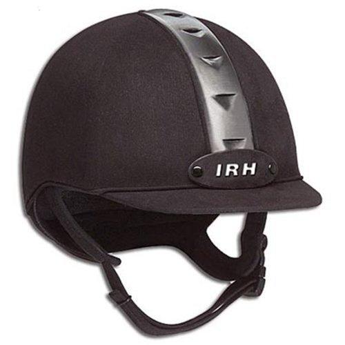 Irh Ath Helmet (IRH ATH Riding Helmet - Black/Gun Metal (S))