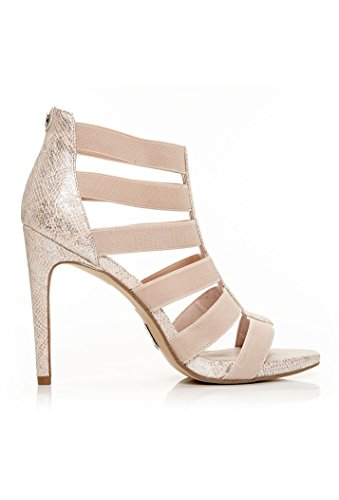 In Pelle Tacón Con Mujer Zapatos Moda 8axwqg8