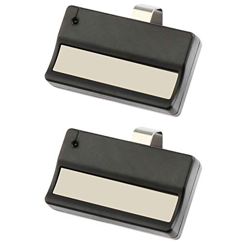 2 for Liftmaster 61LM Garage Door Remote Opener (1984-1993) Dip Switch - 300-400Mhz ()