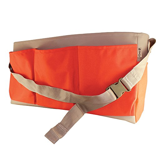 "SitePro 21-758 24"" (61cm) Heavy Duty Stake Bag, Hi-Vis Orange"