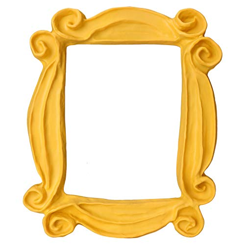 CQNET Friends Frame Yellow Peephole Handmade Door Frame As Seen on Monica's Door on Friends TV Show #1 Replica