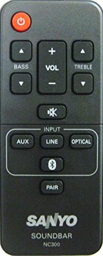 Price comparison product image SANYO - Remote Control NC300UH