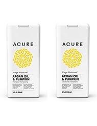 Acure Mega Moisture - Argan Oil & Pumpkin, 12 Fluid Ounces (Variety Pack)